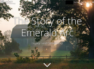 Emerald Arc online story map