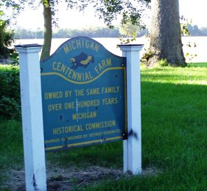 I was also lucky enough to grow up near Kendall Rogers's centennial farm, which is protected by Legacy.