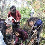 EMU students beat back buckthorn